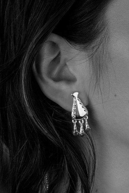 MM Druck Diti Earrings - Sterling Silver