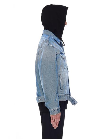 Vetements Denim Anarchy Jacket - Light Blue