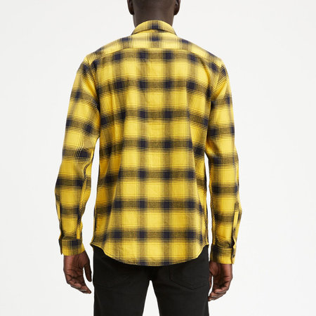 Levi's Made & Crafted Standard Shirt - Charro Black/Yellow Plaid
