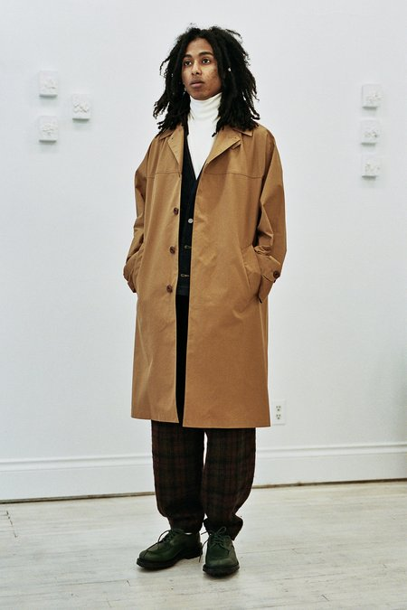 Nicholas Daley French Military Coat - Cinnamon