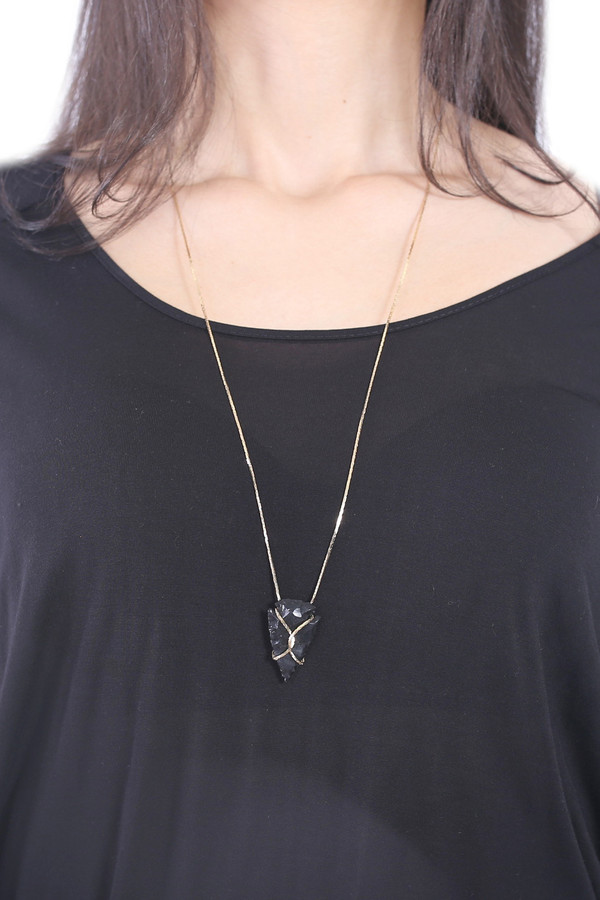 Infinity Arrowhead Necklace
