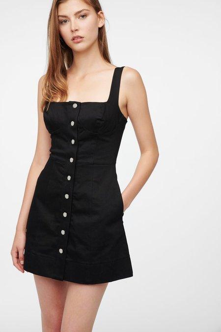 CAPULET MILLIE DRESS - JET BLACK