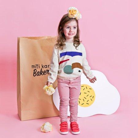 Kids Mini Kardi Paper Cut Sweater