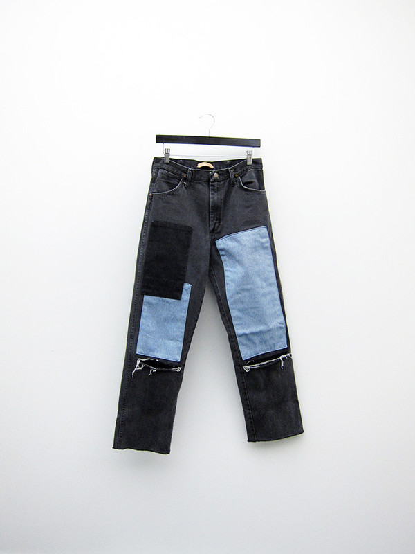 No. 14 Vintage Wrangler, Faded Black