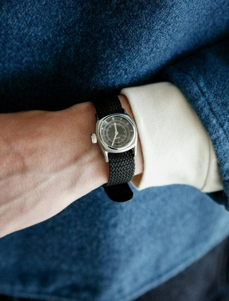 Tender GS/TP Telegraph Wristwatch - Black