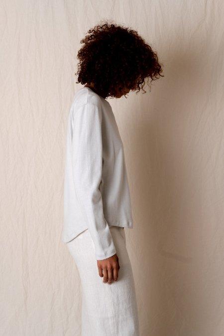 SEYA Long Sleeve T-Shirt - Ice Grey