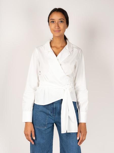 Kloke Mesa Wrap Shirt - White