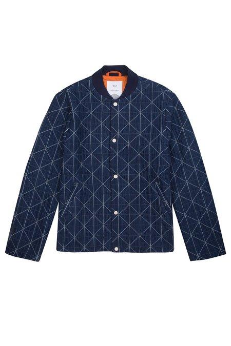 Wax London Rothko Jacket - Indigo