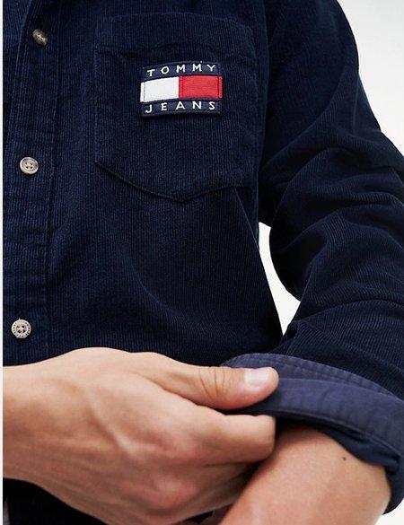 Tommy Hilfiger Cord Shirt - Black Iris