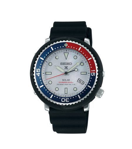 Freemans Sporting Club x SEIKO DIVE WATCH - PEPSI/MOTHER OF PEARL