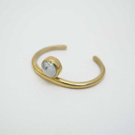 Seaworthy Sonia Cuff Bracelet - Brass