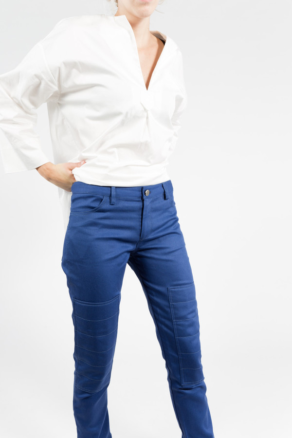 Nomia Cropped Biker Pants