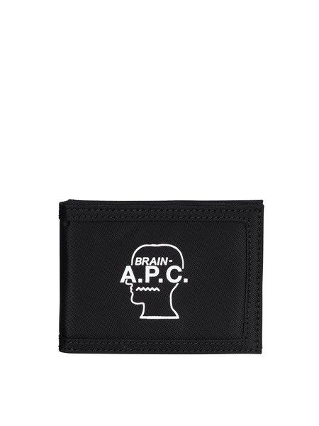 A.P.C. x Braindead Cardholder