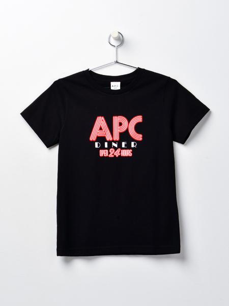 A.P.C. T-shirt Taylor F - BLACK