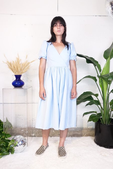 Lisa Says Gah Topanga Dress - Cloud Corduroy