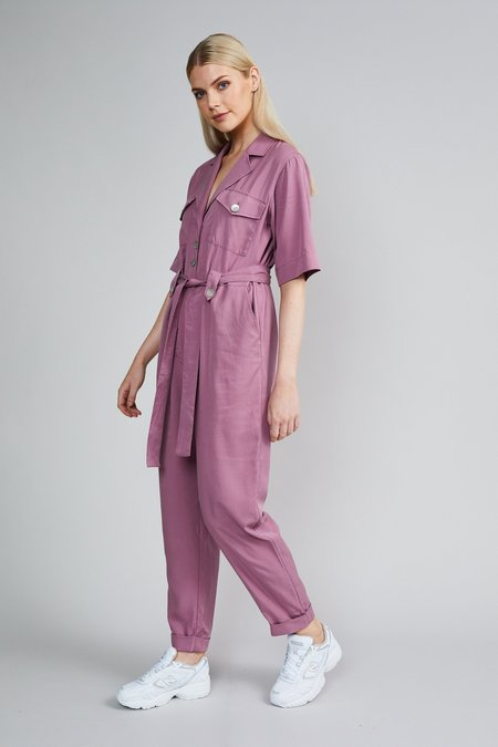 Native Youth The Amelia Jumpsuit - Purple
