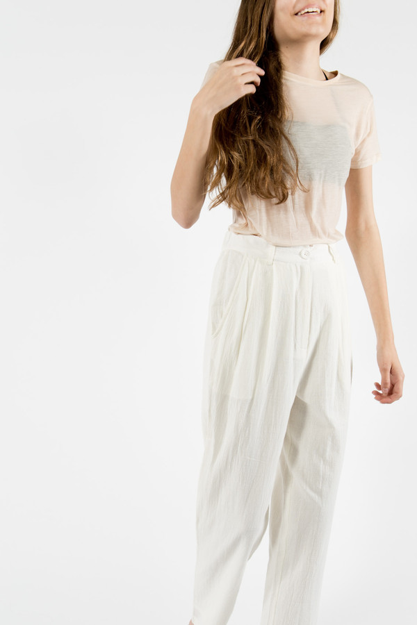 7115 by Szeki High Waisted Trouser