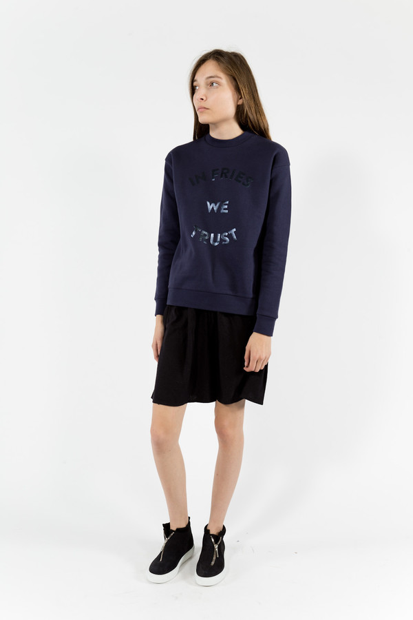 être cécile In Fries We Trust Sweatshirt