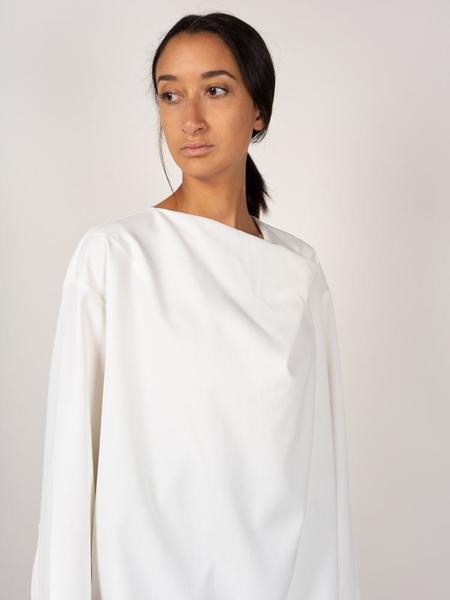 LE 17 SEPTEMBRE Draping Blouse - White