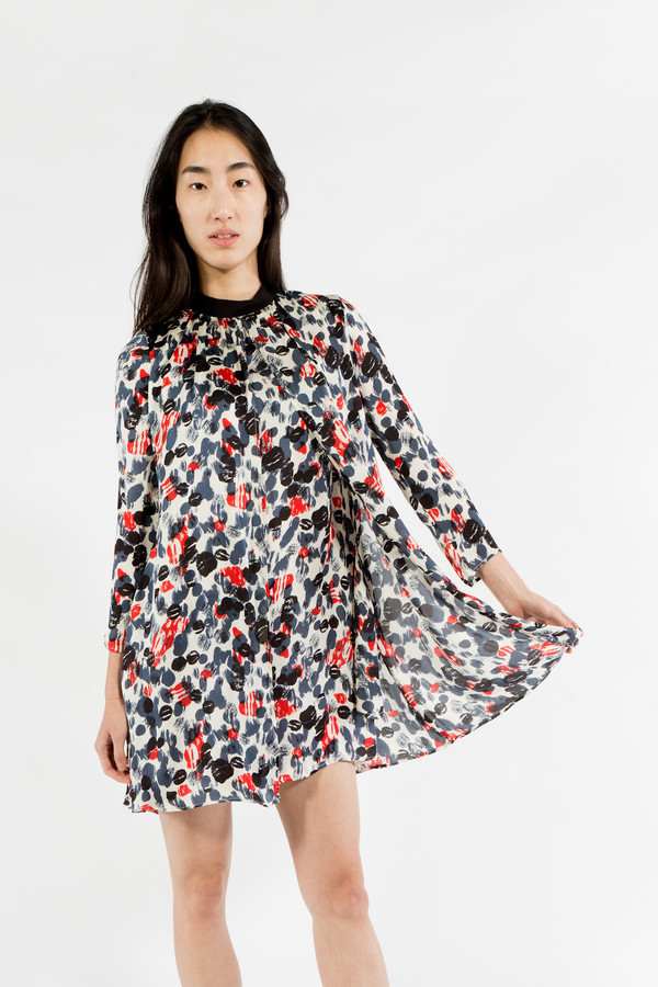 Maison Kitsune Koi Print Dress