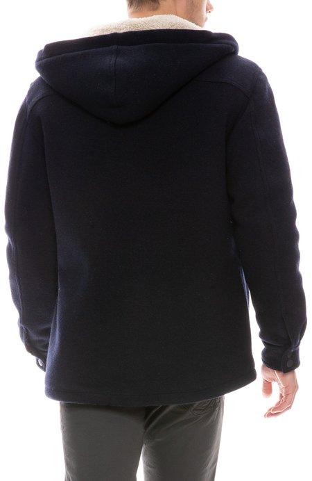 04651/ Shearling Jacket - Navy