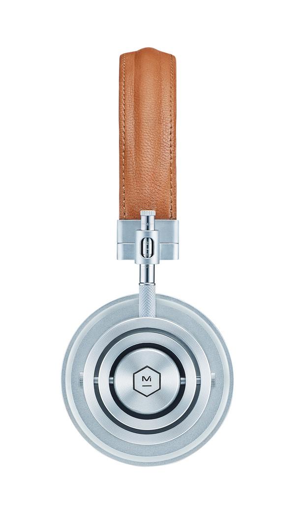 Master & Dynamic MH30 Silver Headphones