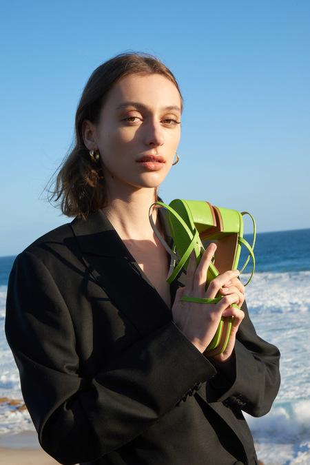Nelson Made Juliette  Sandals - Celery