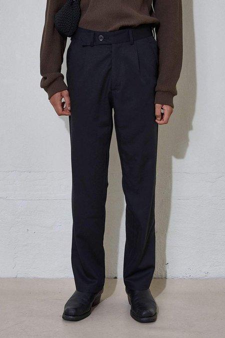 L'Homme Rouge Tradition Pants C2C - Off Black