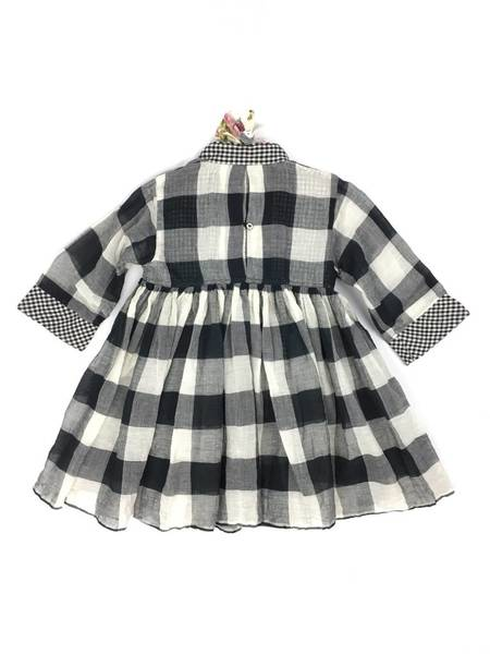 Kids Pero Lily Dress - Plaid