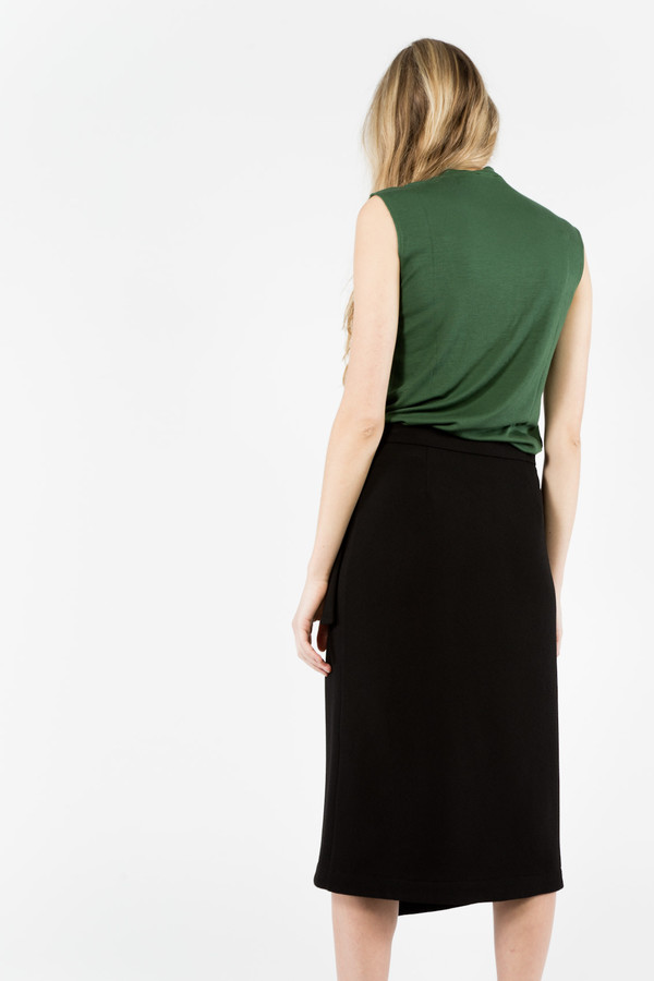 Nomia Pocket Wrap Skirt