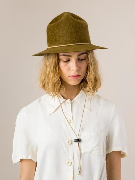 Brookes Boswell Hare Felt Ranger Hat - Bronze