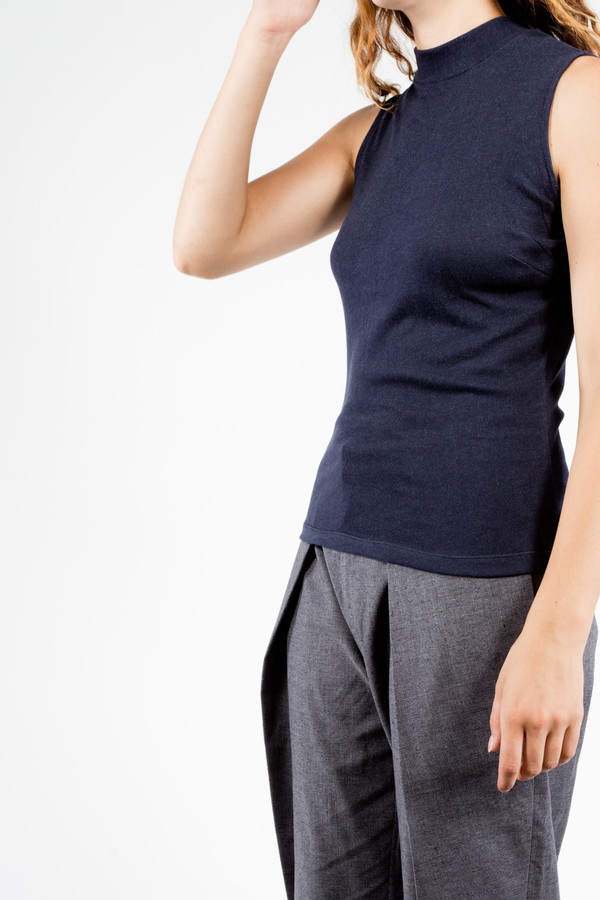 Objects Without Meaning Sleeveless High Neck