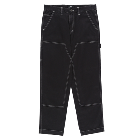 Stussy Overdyed Work Pant - Black