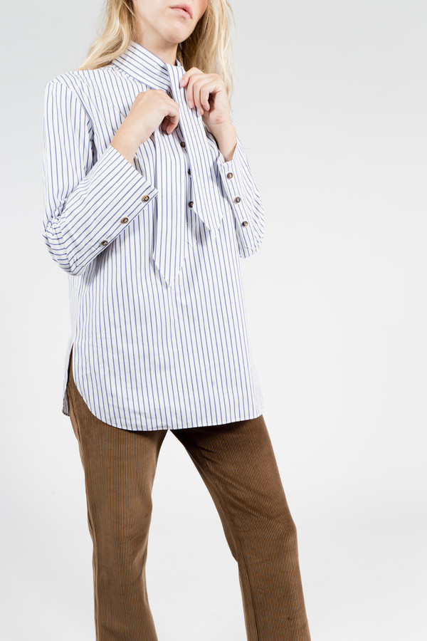 Trademark Stripe Tie Shirt