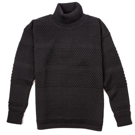 SNS Herning Fisherman Sweater - Navy Blue
