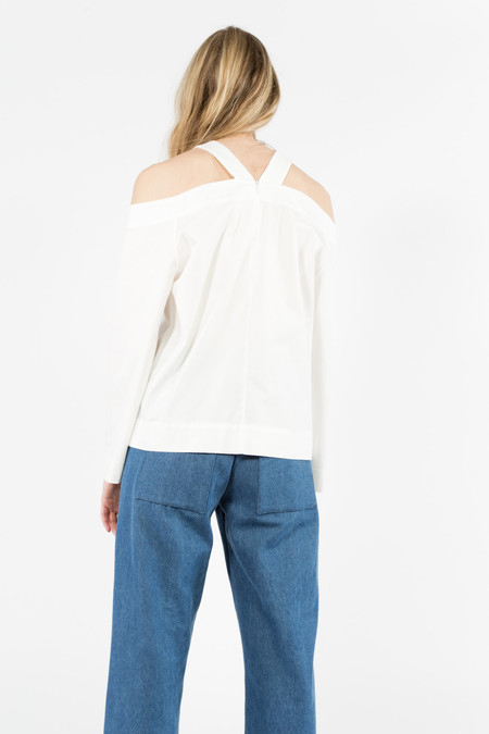 Nomia Trestle Top - WHITE
