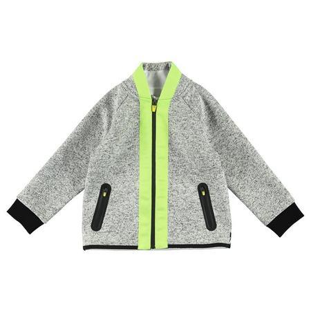 Kids Stella McCartney Child Cardigan With Zip - Grey