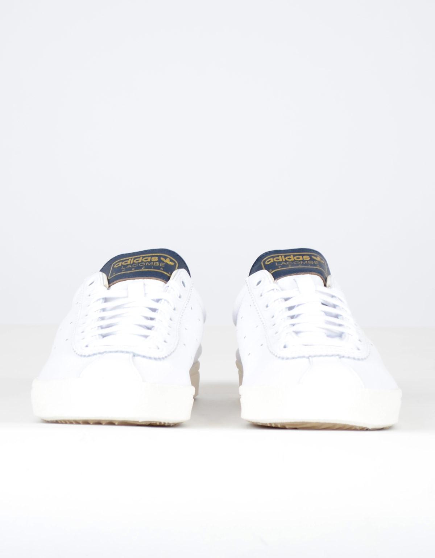 best sneakers c03b8 95715 Adidas Men s Lacombe SPZL White Navy   Garmentory
