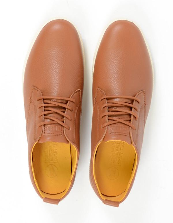 Clae Men's Ellington Leather Grizzly Tumbled Leather