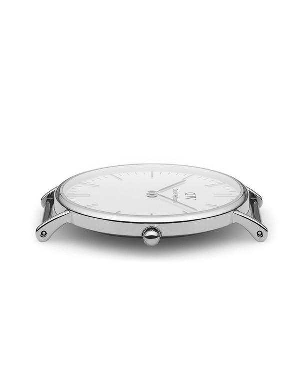 Daniel Wellington Sheffield Watch Silver 40mm