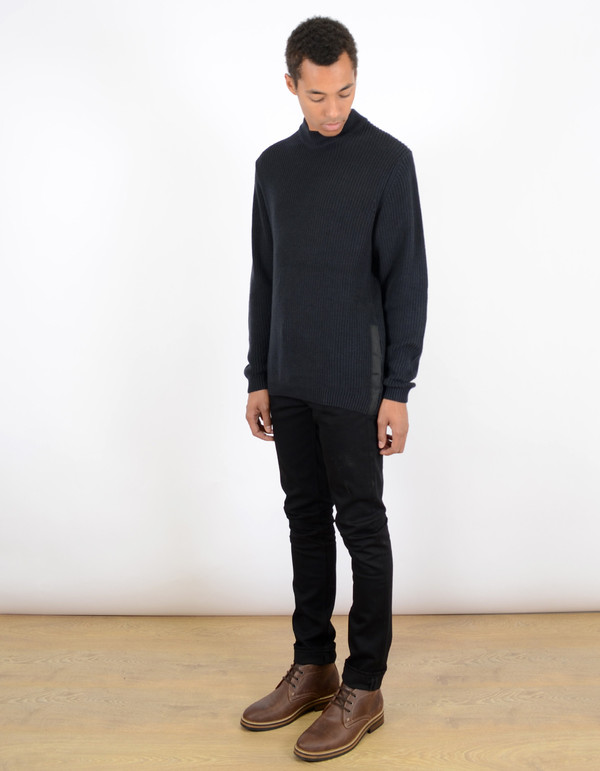 Men's Dickies Construct Vickory Knit Sweater Dark Navy