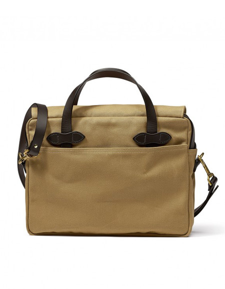 Filson Original Twill Briefcase - Tan
