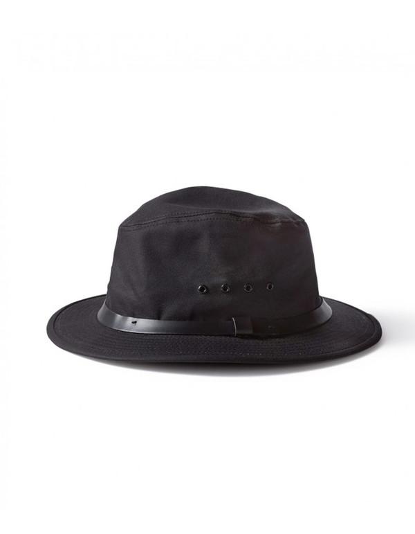 Filson Tin Packer Hat Black