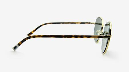 unisex Pala Eyewear Rudo Sunglasses - Polished Gold Metal