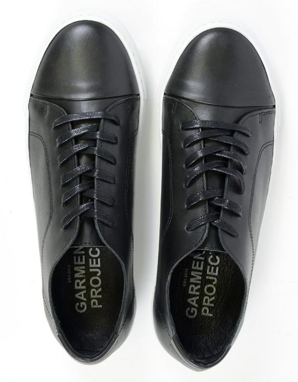 Garment Project Classic Lace Sneaker Black