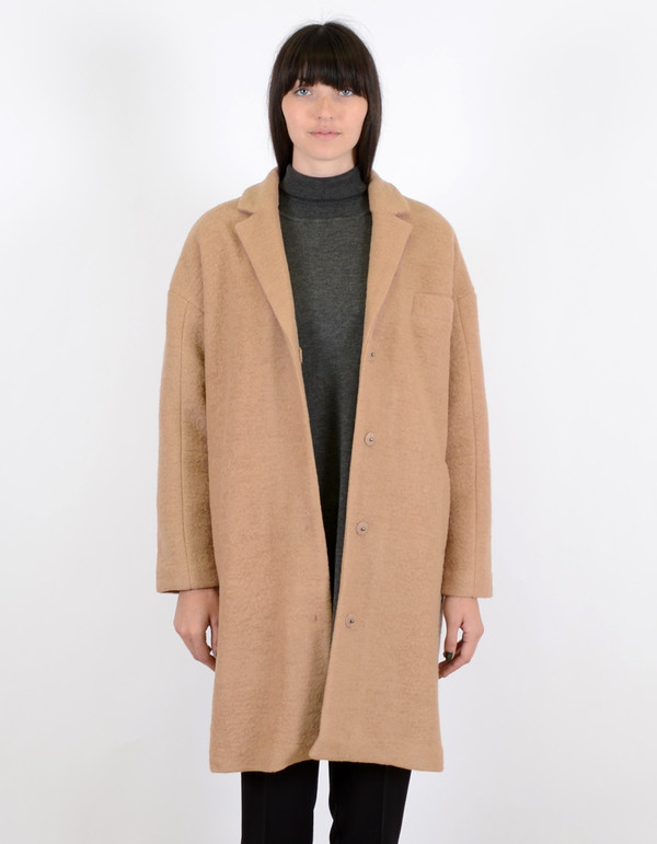 Just Female Jackson Coat Nude Beige
