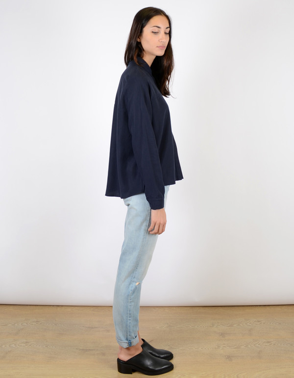 Just Female Triba Shirt Blue Nights