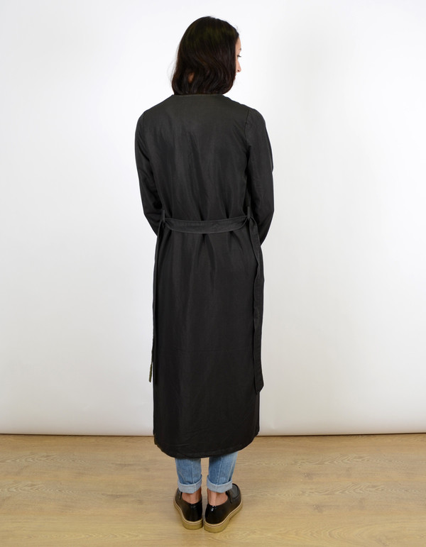 Minimum Katy Coat Smoke Black