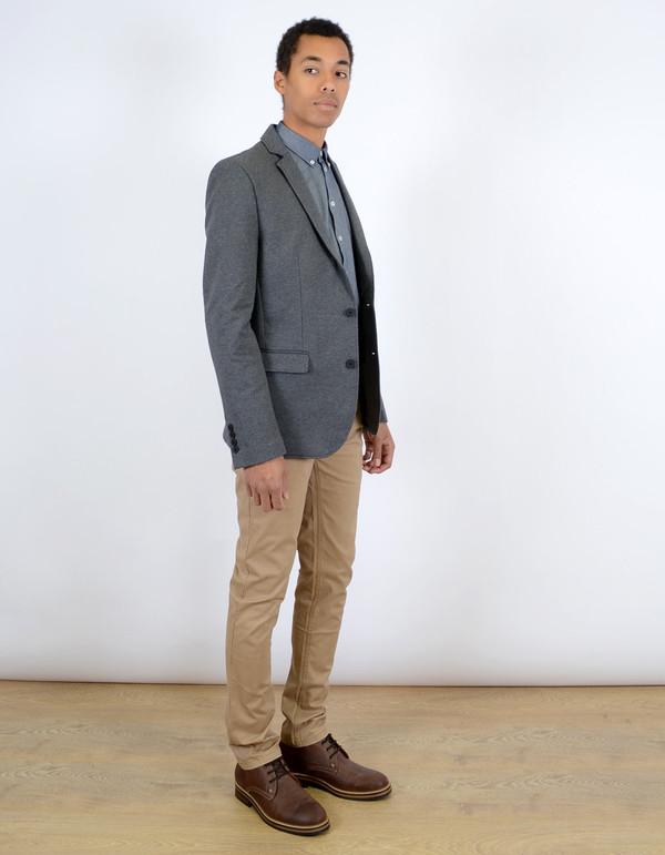 Minimum Men's Parma Blazer Charcoal Blazer