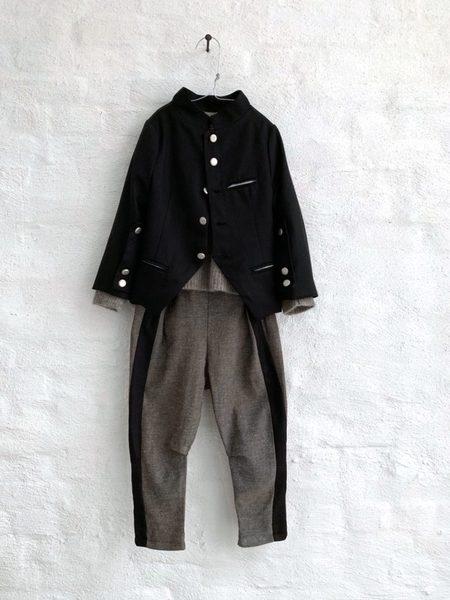 Kids Treehouse Jata Military Jacket - Black
